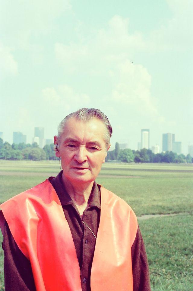 Marcel Storr, artiste et balayeur