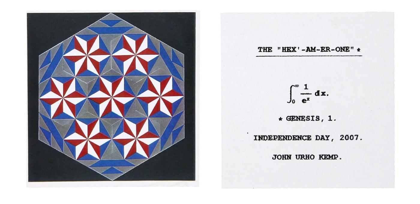 John Urho Kemp, l'art brut en équations